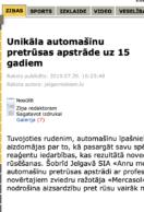 jelgavniekiem.lv – Unikāla automašīnu pretrūsas apstrāde uz 15 gadiem